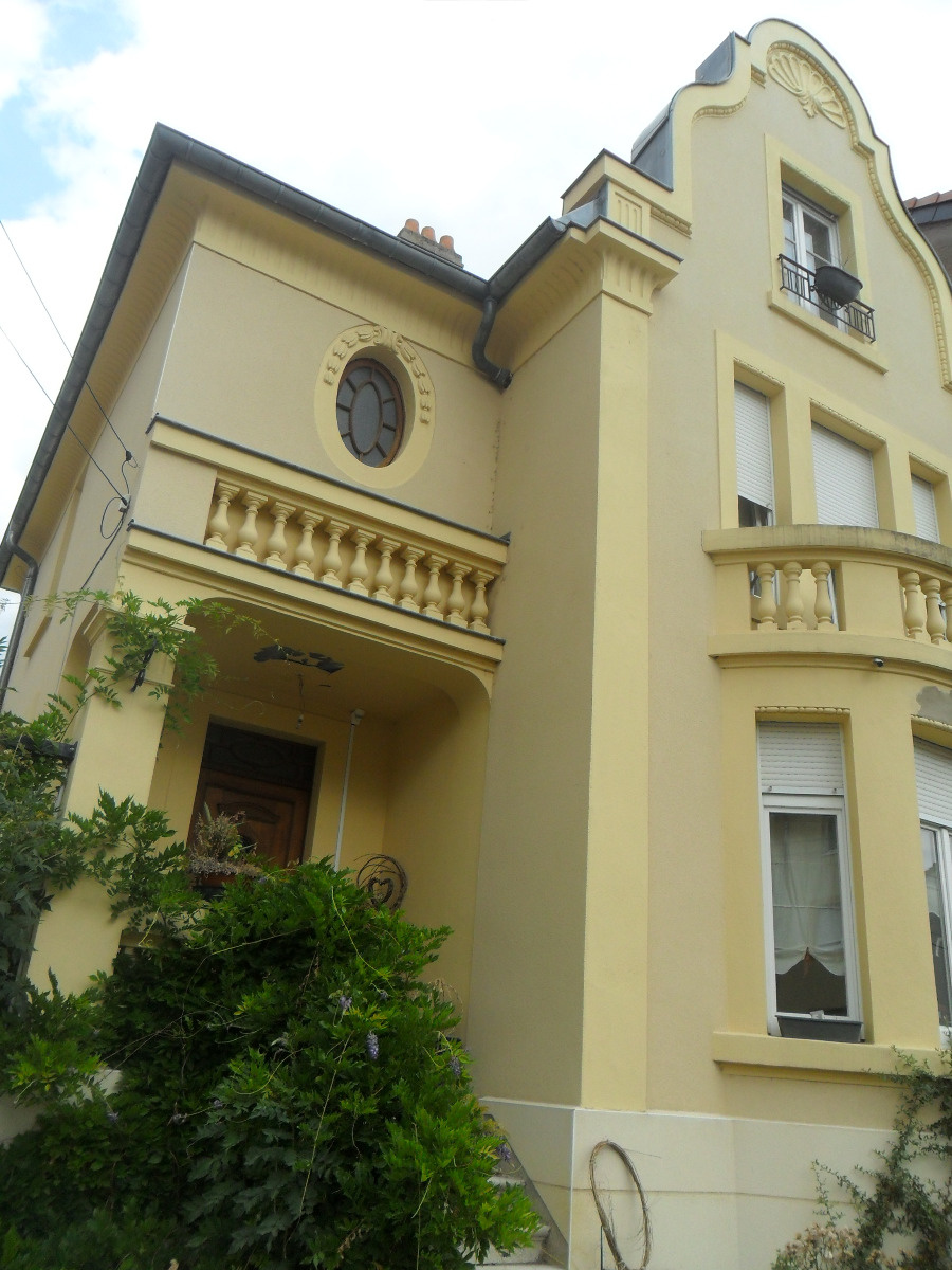 Achat vente maison de 5 pi ces ban st martin 57050 for Bow window maison